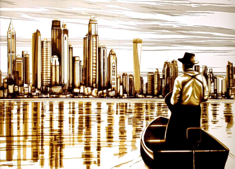 max zorn tape art Dubai